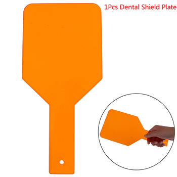 Hand-held Dental Shield Plate Eye-protective Board Curing Light Teeth Shields Teeth Whitening Dental Tools Light Filter Paddle 1pcs dental equipment dental lab dental instrument dentistry teeth whitening light guide for woodpecker curing light