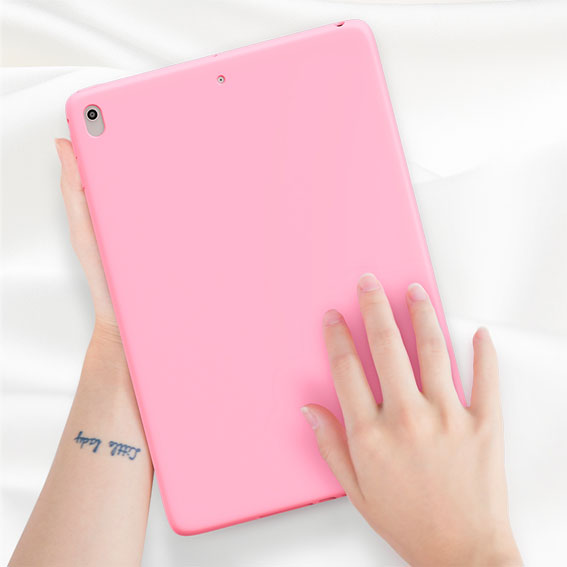 iPad for 8th-Generation Tablet Soft-Silicone-Rubber Shockproof Case Apple Protective
