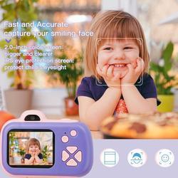 Kinder Kamera Spielzeug Baby Kühle Nette Digitale Foto Kamera Kinder Pädagogisches Spielzeug 12 Sprachen 32G Unterstützt Geburtstag Weihnachten Geschenke
