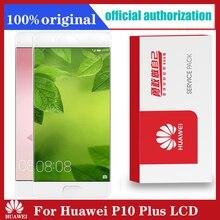 Dorigine 5.5 avec Cadre De Remplacement pour Huawei P10 Plus Lassemblage de Convertisseur Analogique Numérique Décran Tactile daffichage à cristaux liquides de VKY L09 VKY L29 VKY AL00
