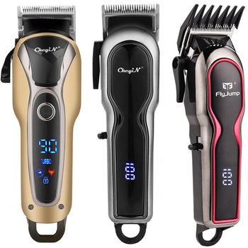 Professional Barber Hair Clipper Men Rechargeable Powerful Trimmer Haircut Electric LCD Cutting Machine Adults Kids 49 - discount item  49% OFF Personal Care Appliances
