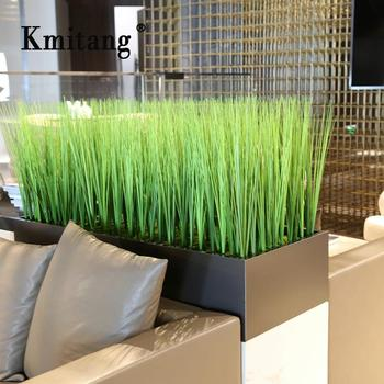 81cm 10pcs Artificial Onion Grass Fake Plants Plastic Foliage Bouquet Green Reed Leaves For Living Room Hotel Office Decoration