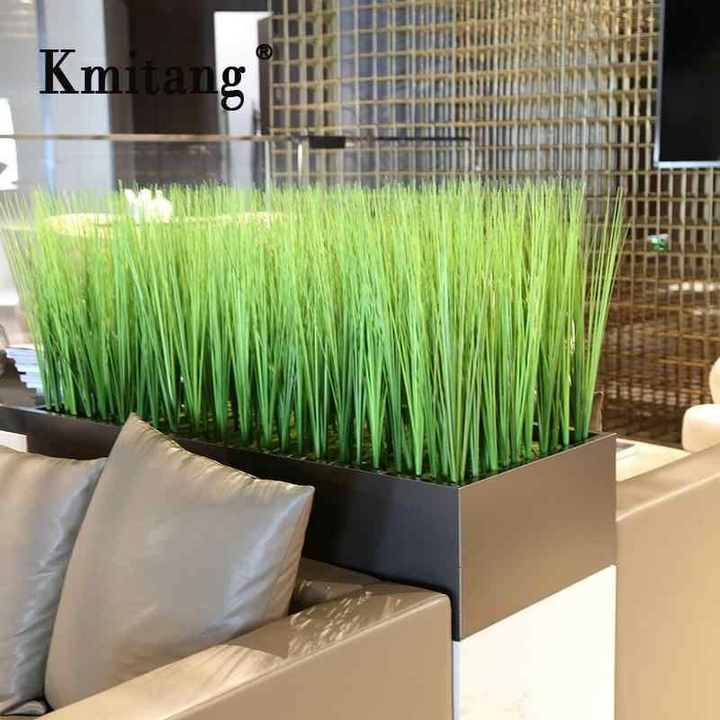 Oignon herbe avec pot 110 C Réaliste Artificielle Fausse Plante arrangement Home Decor