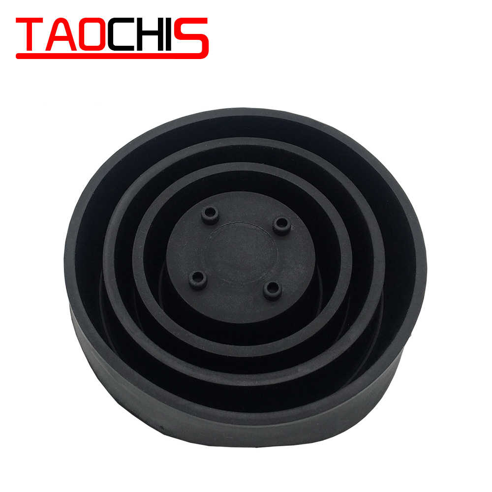 TAOCHIS 2pcs Car Headlight Universal multifunctional Rubber Boots Waterproof Cover Dust Cap Sealing Head Lamp LED 40mm-100mm