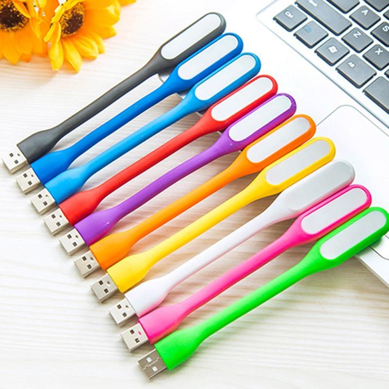 Mini Creative USB LED Book Nighit Light Summer Flexible Foldable USB LED Lamp Power 5V 1.2W For Mobile Power Computer Laptop