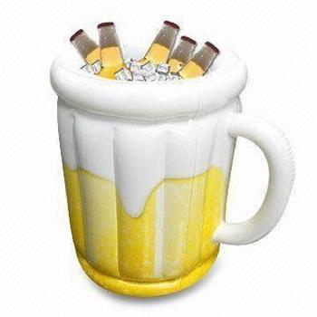 PVC Inflatable Ice Bucket  Beer Steins In Outdoor  Beer Chiller for Freezer Drink as a Wine Bucket  and Plastic  Beer Cooler free shipping plastic led ice bucket color changing plastic ice bucket luminous ice pail ice cooler glow beer cask wine barrel