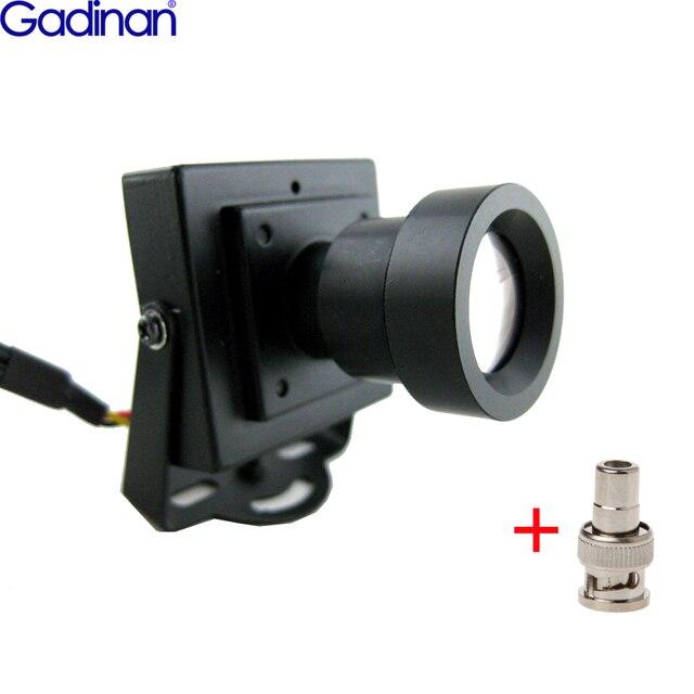 عالية الدقة CMOS 700TVL 25 مللي متر عدسة طويلة المسافة صندوق الأمان لون صغير داخلي كاميرا CCTV