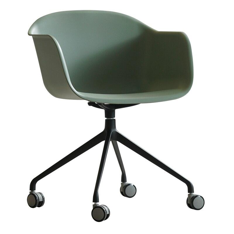 Nordic Leisure Chair Modern Minimalist Creative Personality Fashion Negotiation Office Swivel  Designer Back Computer