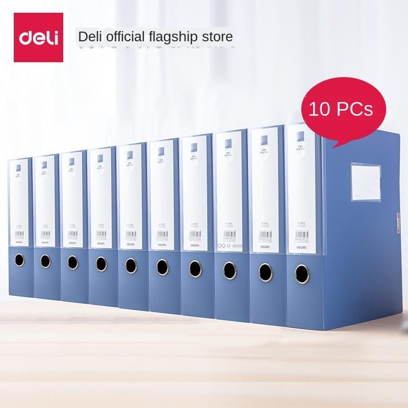 A4 File Box Gluing Plastic Storage Box10pcs File Organizer Box Document Box Thickening Label Organiser