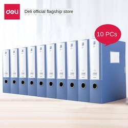 A4 fichier boîte collage plastique boîte de rangement 10pcs fichier organisateur boîte Document boîte épaississement étiquette organisateur