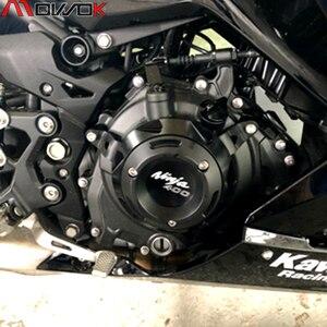 Image 5 - KAWASAKI NINJA 400 Z 400 NINJA400 Z400 2018 2020 motosiklet aksesuarları Crash Pad Stator Case koruyucu güvenlik