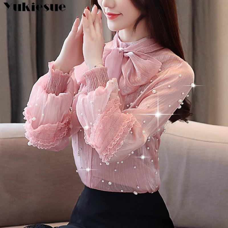 Fashion Woman Blouses 2019 Women's Shirt Blouse For Women Blusas Womens Tops And Blouses Chiffon Shirts Ladie's Top Plus Size