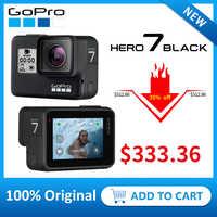 GoPro HERO7 noir étanche Action sport caméra avec écran tactile Go Pro HERO 7 12MP Photos stabilisation en direct en Streaming