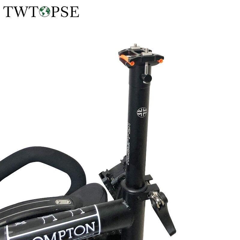 Brompton Seat Post 530 mm replacement Steel Post for brompton folding bike