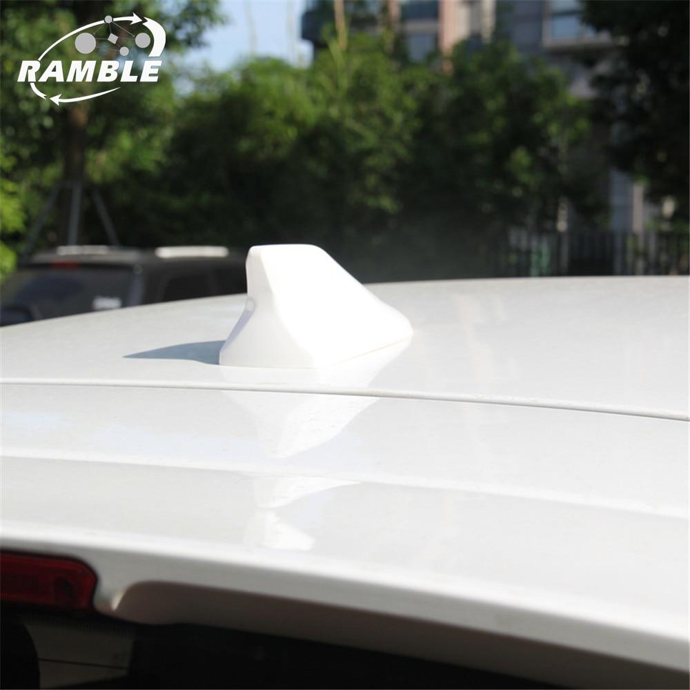 Ramble Brand NEW Shark Fin Antenna for Honda CRV XRV VEZEL Car Roof Aerial Waterproof Radio Signal FM Amplifier Signal For SUV|shark fin antenna|radio signal|roof aerial - title=
