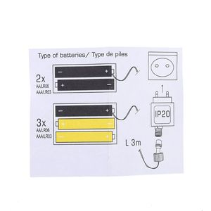 Image 5 - AA AAA Battery Eliminator Replace 2x 3x AA AAA Battery Cable for Radio LED Light