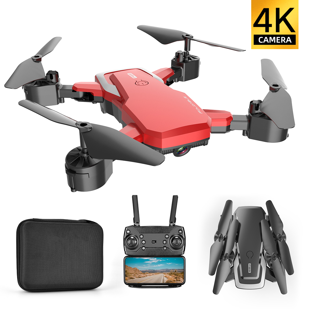 Folding Drone with HD Aerial Photography 4K Camera Four-axis Aircraft Fixed Height Remote Control Helicopter Long Battery F85