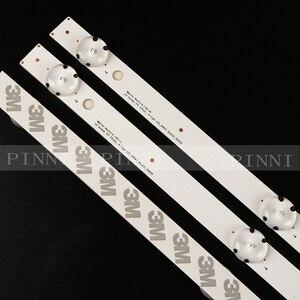 Image 4 - New 3 PCS 7LED 83cm LED strip for LG 43UK6300PLB 43UJ634V 43LJ61_FHD_L LC43490059A LC43490058A Innotek 17Y 43inch_A LC43490074A