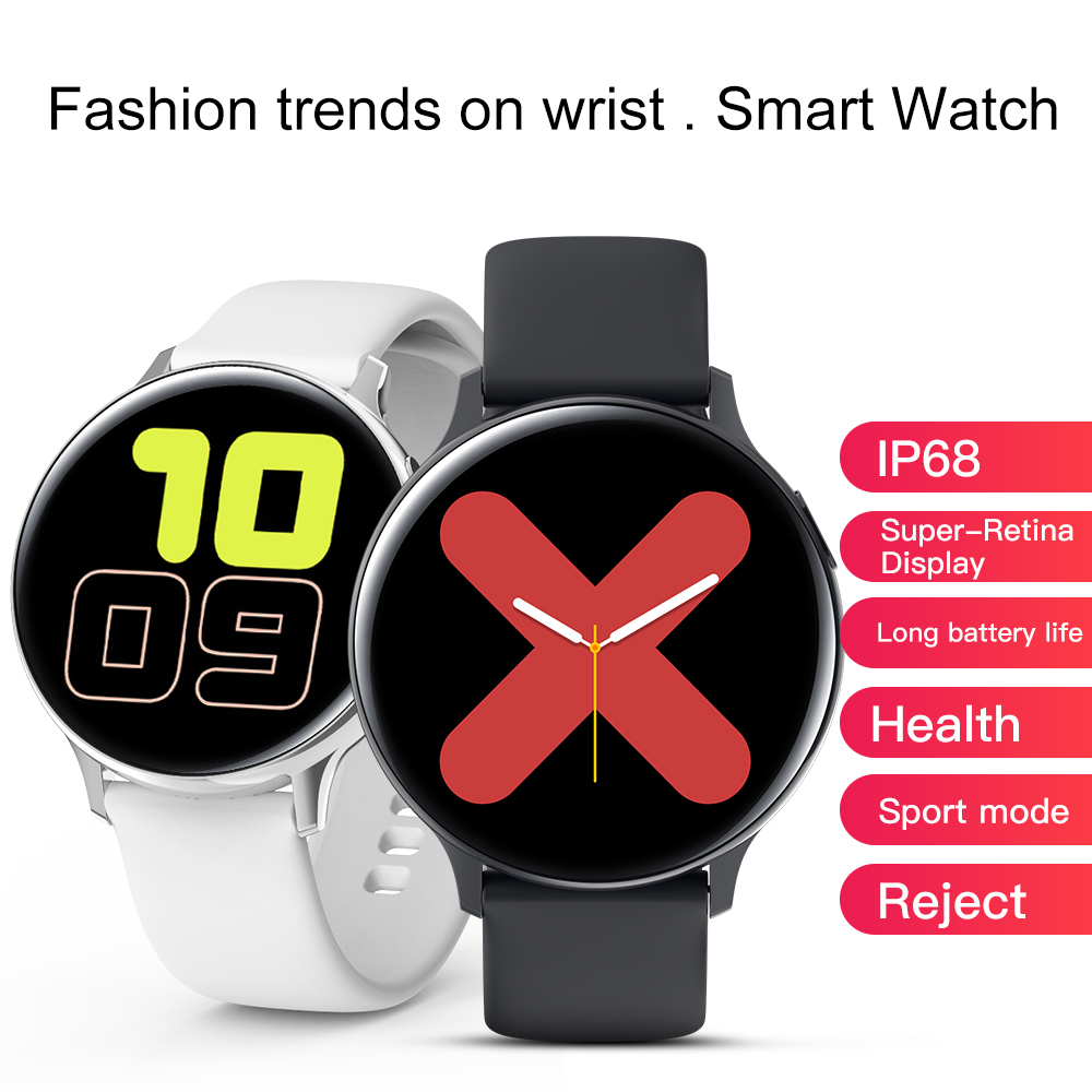Smart Watch Ecg Ppg HR Blood Pressure Oxygen Smartch Watch Android Full Touch Smart Watch For Android Phone Apple Iphone IOS image