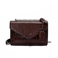 Luxury Handbags Women Bags Designer Women's Bag 2019 New Fashion Crocodile Poplar Forest Single Shoulder Handbag Chain Flap Bag