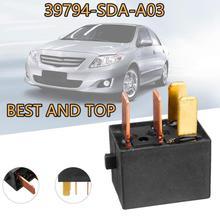 39794 SDA A03 A/C Compressore Relè Relè di Potenza Relè di Montaggio Per Acura TL Accord Civic Fuse Relay G8HL H71 12VDC