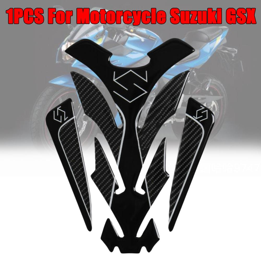 Rush Sale! Perfect 5D Carbon Fiber Motorcycle Tank Pad Sticker for For <font><b>Suzuki</b></font> <font><b>GSX</b></font> S <font><b>GSX</b></font>-R 150 250 GSXR600 750 1000 Wholesale CSV image