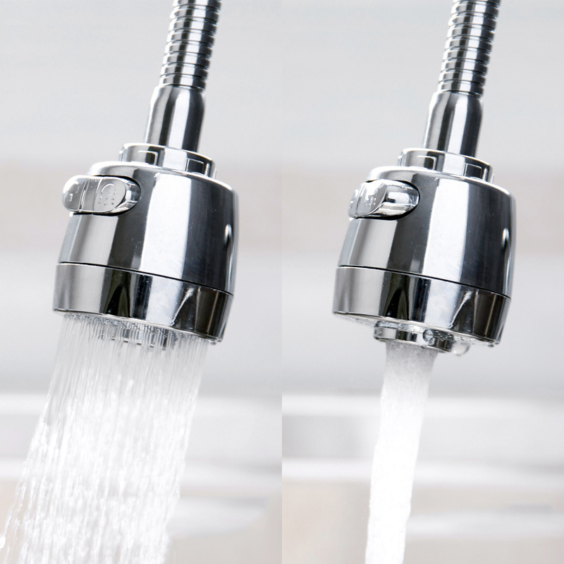 2 Adjustment Universal Flexible Faucet Sprayer Extender Sink Tap Head Filter Cabezal De Ducha Led Shower Head Led Light