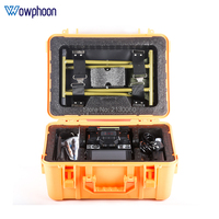 Free shipping A 81S Orange Fully Automatic Fusion Splicer Machine Fiber Optic Fusion Splicer Fiber Optic Splicing Machine