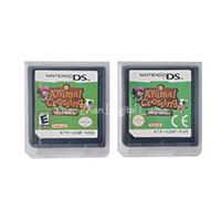 For Nintendo DS 2DS 3DS Video Game Cartridge Console Card Animal Crossing Wild World EU/US Version image