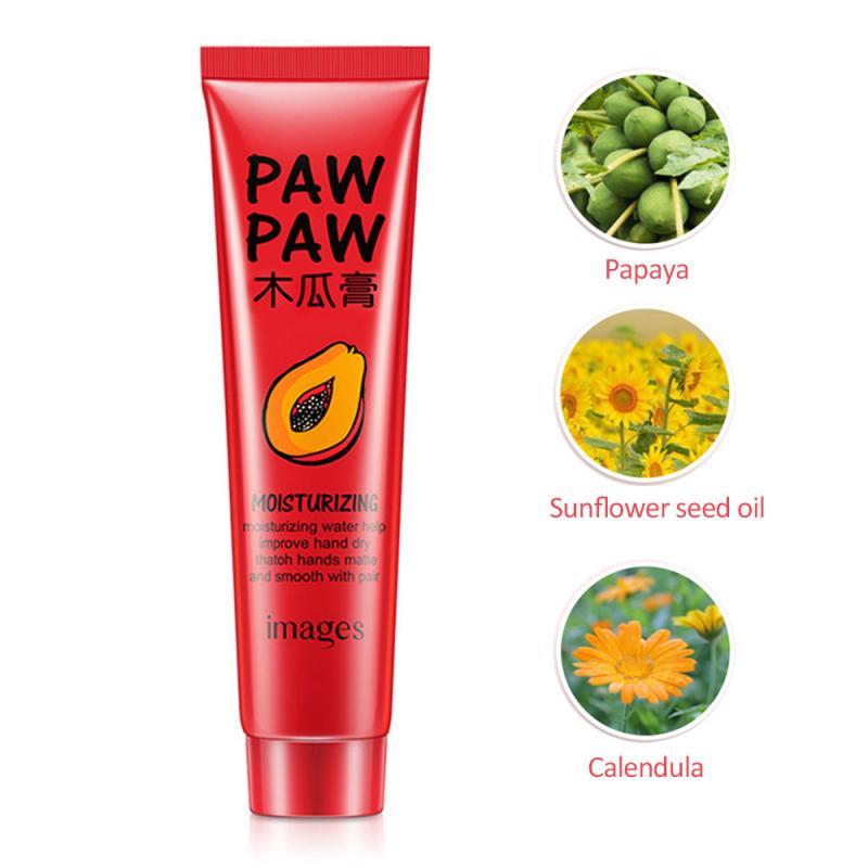 Papaya Ointment Lip Balm Facial Cream Eye Cream Buttock Cream Lips Hand Foot Cream Pure Papaw Ointment Lip Plumper Hot SaleTSLM1