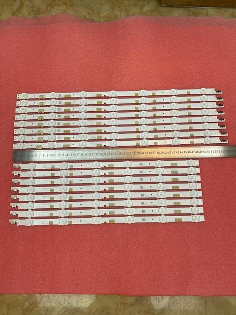 16 Chiếc Đèn Nền LED Dây Cho Samsung UE50JU6800 UE50JU6850 UE50JU6800K UA50JS7200 UE50JU6870 UN50JS7200 UA50JS7200 UE50JS7200