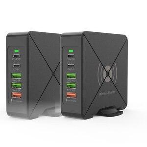 Image 5 - Có Cổng USB Sạc Điện Thoại Di Động 75W QC3.0 Laptop Nhanh Điện Dock Nhanh Chóng Sạc Wirless Sạc Loại C PD 45W Cổng