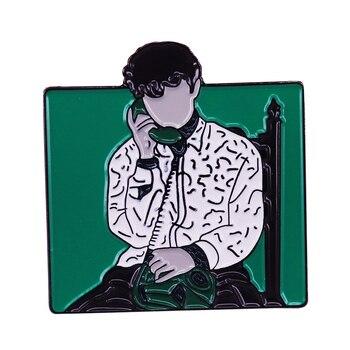 Позвоните мне по вашему имени квадратный значок Elio & Oliver Fans Art Gift