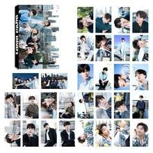 Kpop 5th Юбилей Бумага ломо карты Jimin V Suga коллективных Фотокарта плакат самодельные Бумага фото карты 30 шт./компл