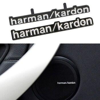 10 sztuk samochodów stylizacji samochodów audio dekoracji pasuje do obsługi harman kardon dla BMW E46 E39 E60 E90 E36 F30 X5 e53 E34 E30 Cooper Lada głośnik audio