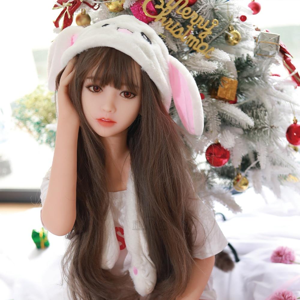 138cm Sex Dolls Real Silicone TPE Sex Dolls For Man Lifelike Realistic Big Breast Masturbator Japanese Sex Doll Vagina