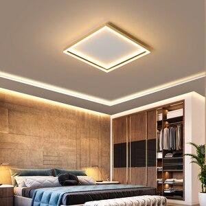 Image 2 - ネオ煌きゴールド/ブラック、完成した現代の led シーリングライトリビングルームホーム 110 v 220 220v の天井ランプ