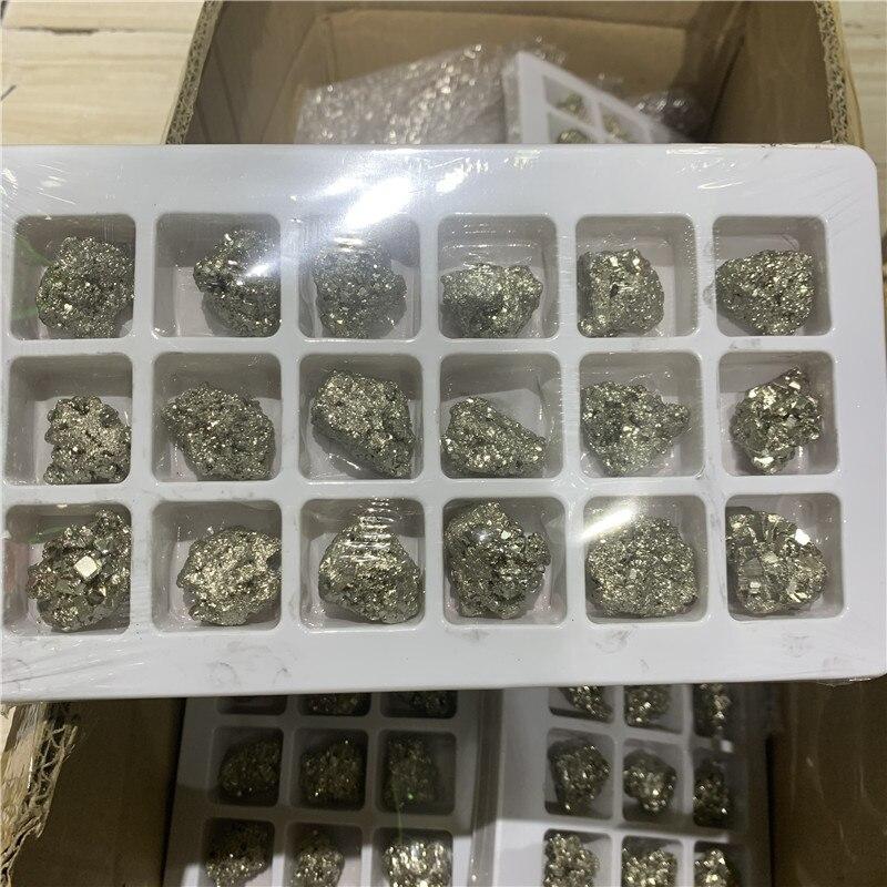 Nouveaux spécimens minéraux de pyrite naturelle de haute qualité reiki pierre de guérison pour la collection