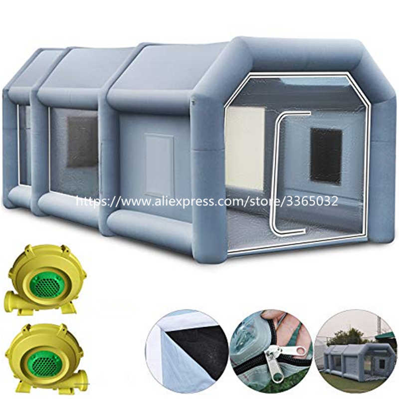 Cusom Cina Terbaik Jual Carcoon Inflatable Auto Spray Booth Cat Booth Rental