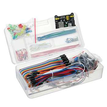 200PCS Electronics Component Basic Starter Kit Fit For Arduino For UNO R3