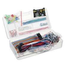Kit básico de iniciación para Arduino, componente electrónico, compatible con UNO R3, 200 Uds.