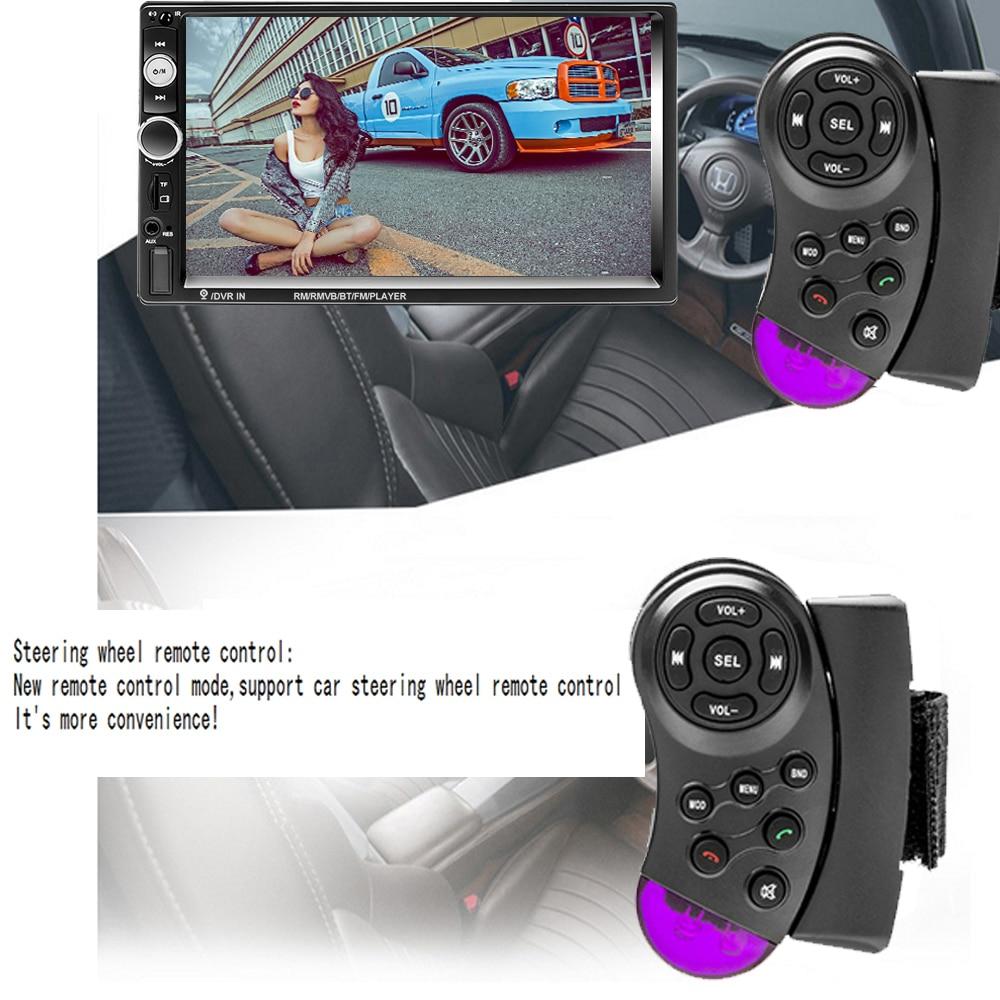 Podofo 2 din Car Radio 7 HD Autoradio Multimedia Player 2DIN Touch Screen Auto audio Car Stereo MP5 Bluetooth USB TF FM Camera (4)