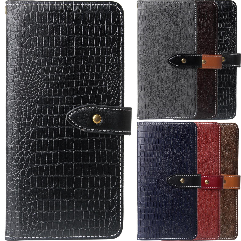 Crocodile Pattern Case For Vodafone Smart V10 N10 E9 X9 N9 Lite E8 V8 N8 Smart Case Fundas Wallet Card Holder Bags Etui