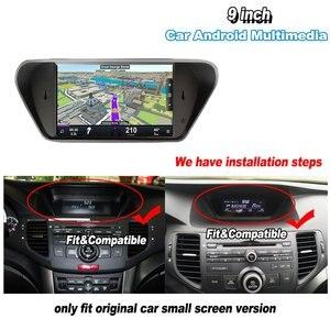 Image 2 - Radio Multimedia con GPS para coche, Radio con reproductor, navegador, navegador Navi, con Android y reproducción de vídeo, para Honda Accord 8, Europa, 2007 2012