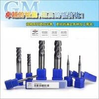 AL 3EL D6.0 100% original ZCC CT carboneto de inserção/end mills com a melhor qualidade 10 pçs/lote frete grátis|cnc tools|solid carbide6mm end mill -