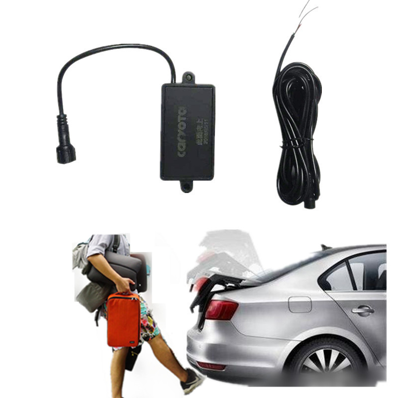 2019 New Car One Foot Sensor Activated Induction Electric Lift Gate Tailgate Opener Hands Free Foot Trigger Trunk Opener