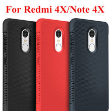Case on for xiaomi mi redmi note 4x phone cover ksiomi note4x 4 x skid resistance heat disspation bumper xiaom redmi4x shell cam(China)