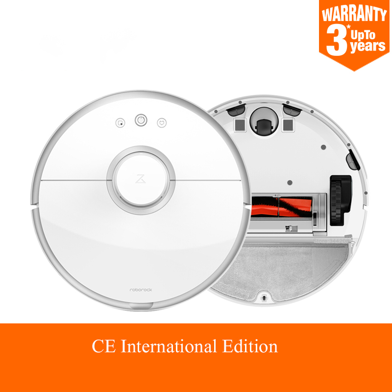 <font><b>Roborock</b></font> <font><b>S50</b></font> MI Robot Vacuum Cleaner for Home Automatic Sweeping Dust Sterilize Smart Planned Washing Mopping image