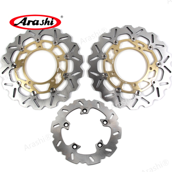 Arashi 310 /240 mm For SUZUKI GSF BANDIT ABS 650 11-14 CNC Floating Front Rear Brake Disc Rotors GSF650 ABS 2011 2012 2013 2014