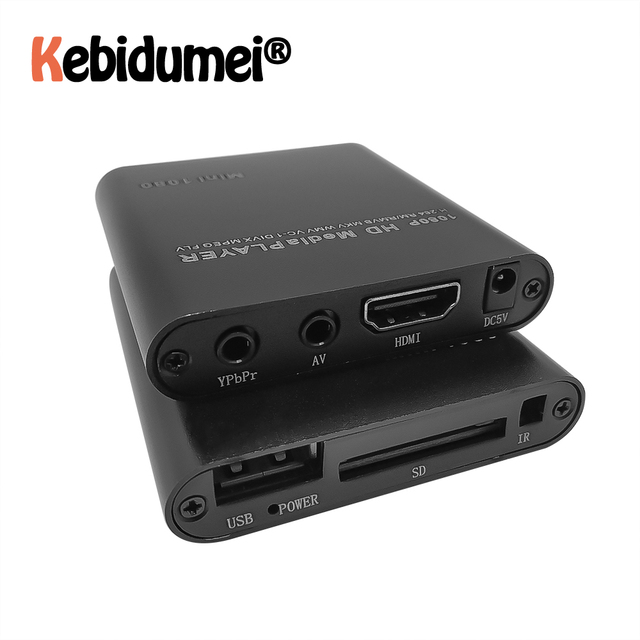 Full HD 1080P HDD Multimedia Player USB External Media Player With HDMI SD Media TV Box Support MKV H.264 RMVB WMV HDD Player 21